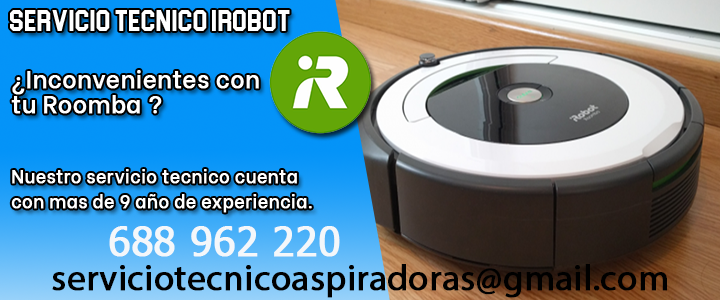 Servicio técnico iRobot Roomba en Usurbil 3